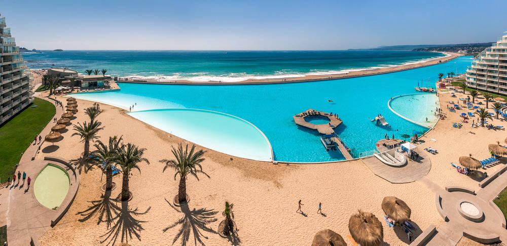 La piscina más grande del mundo, en Chile