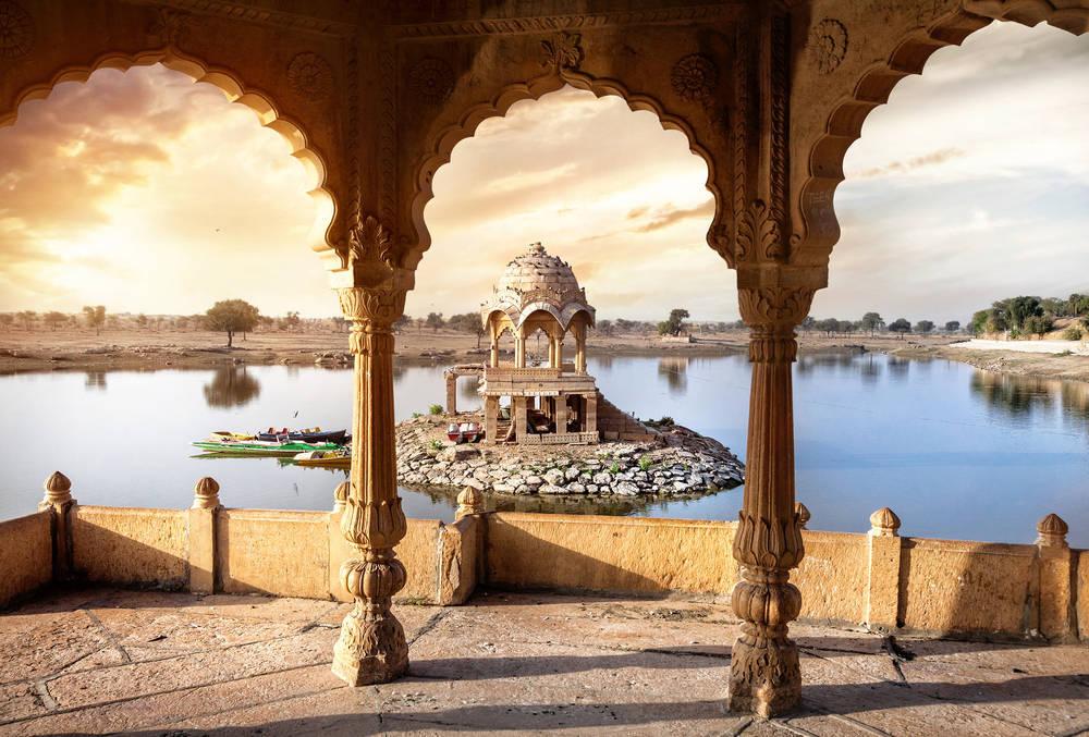 El corazón del Yoga, en la India