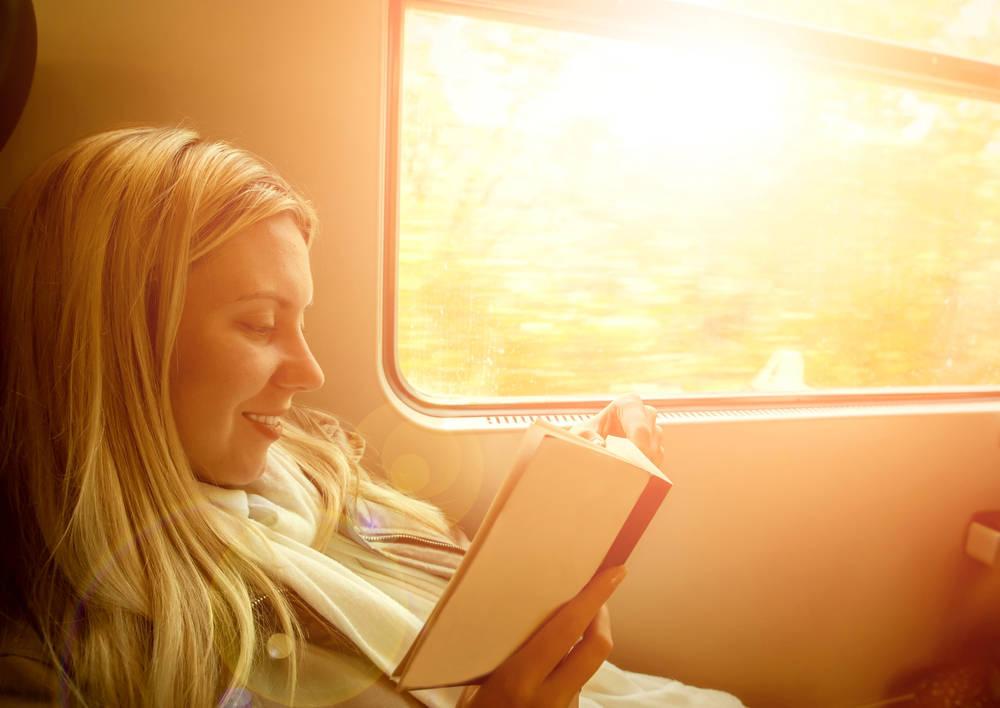 La experiencia de viajar con un libro