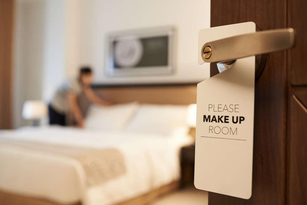 Mantenimiento y limpieza en los hoteles